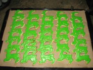 john deere deer sugar cookie