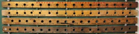 yardstick valve holder 13-16