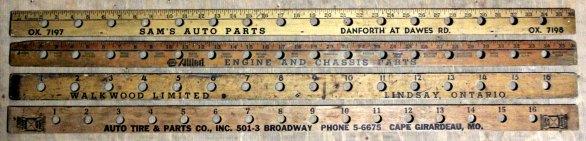 yardstick valve holder 63-66
