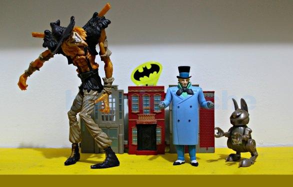supervillains comics scarecrow & mad hatter