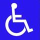 Wheelchair symbol