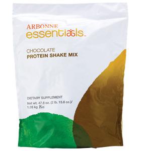 arbonne choc protein shake mix