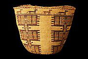 Native American basket from the Pamplin Collection