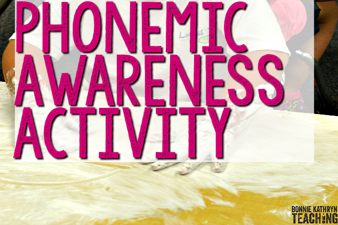 Phonemic Awareness Activity