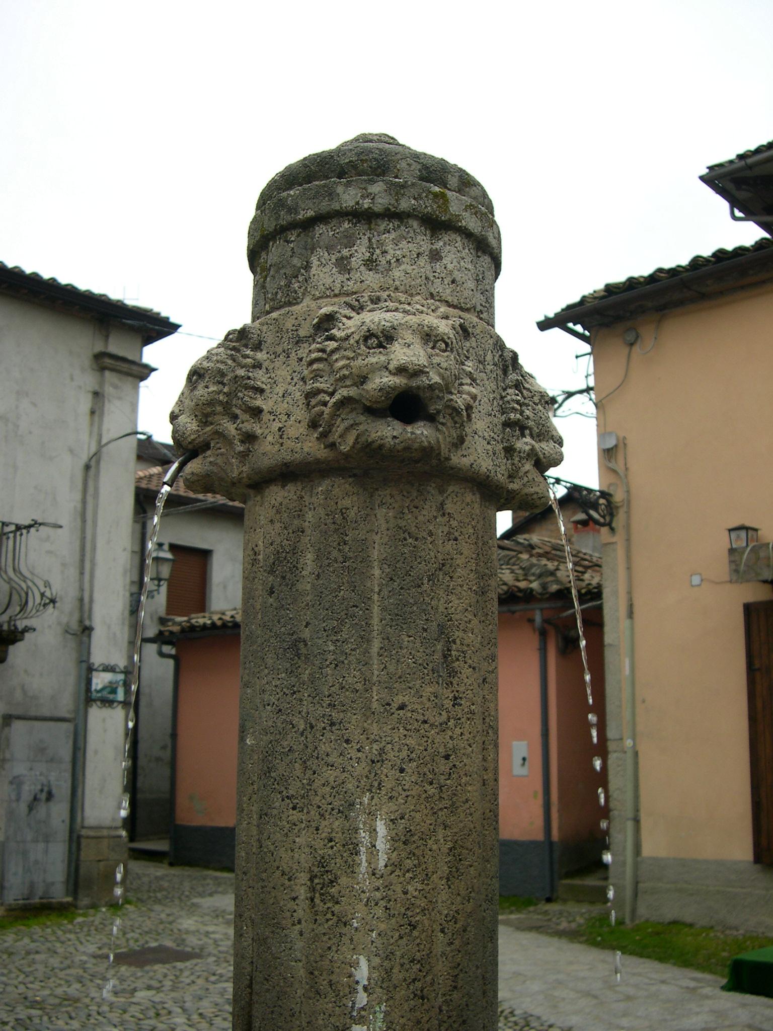 The Lion Fountain, Serra San Bruno