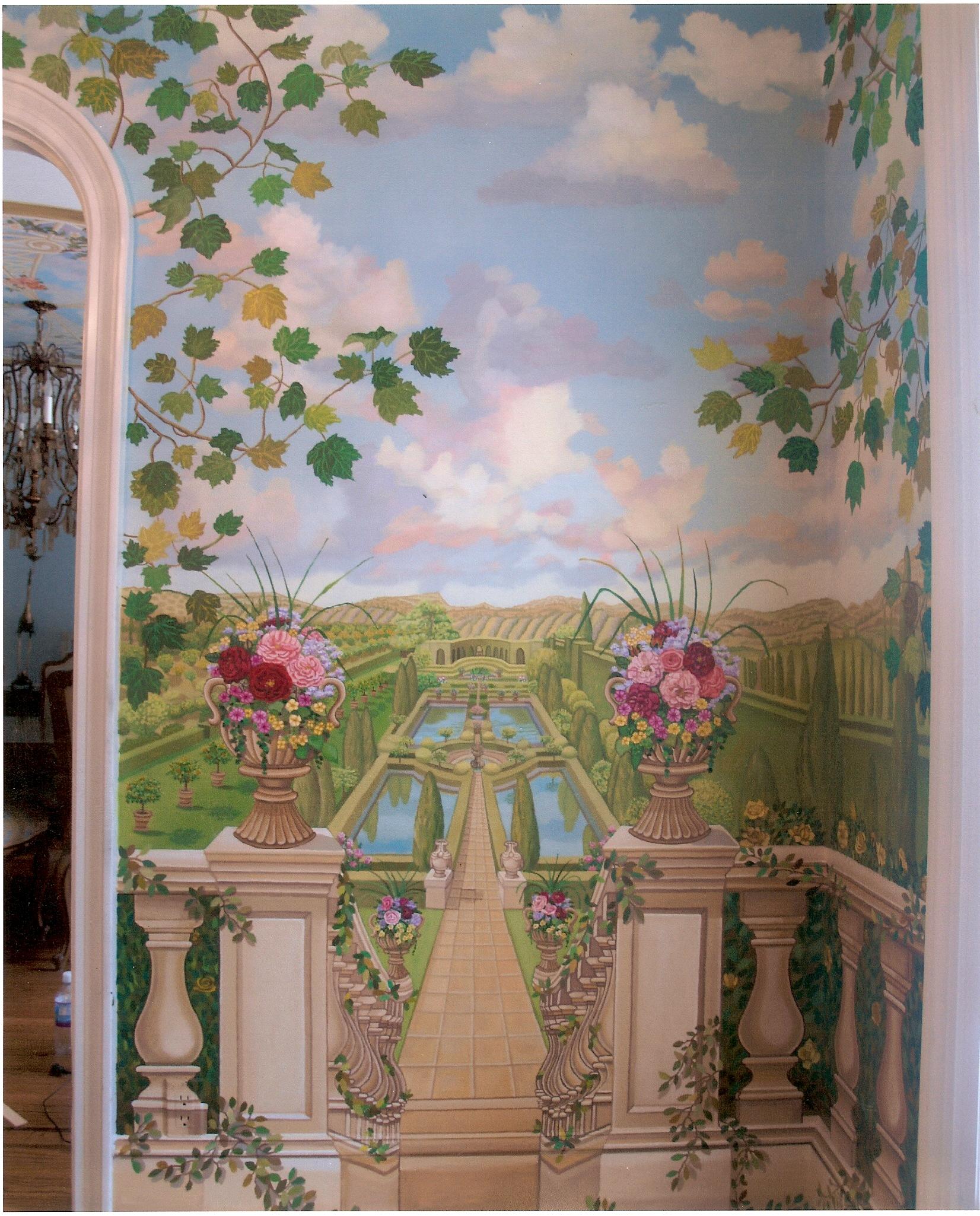 Bonnie Siracusa Murals Fine Art Gallery Hallways