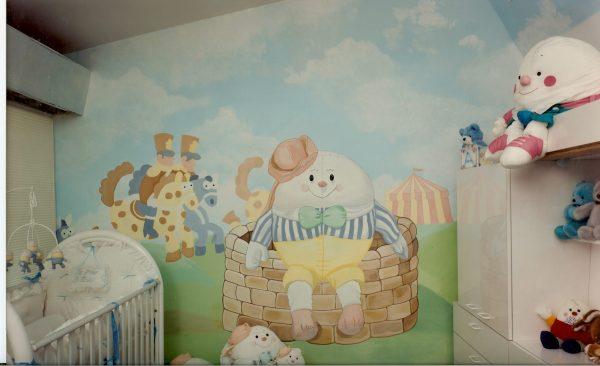 Bonnie Siracusa Murals Fine Art Nurseries