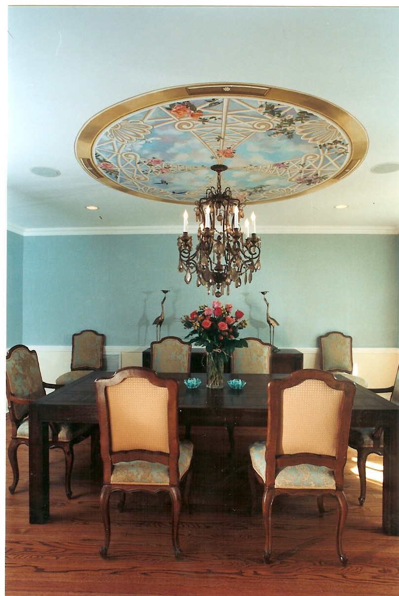 Bonnie Siracusa Murals Fine Art Gallery Dining Rooms