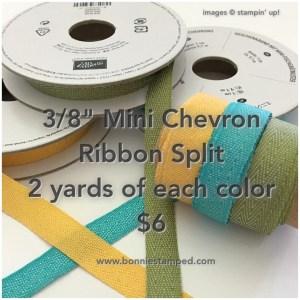#chevronribbon #newproduct #ribbon #bonniestamped #stampinp