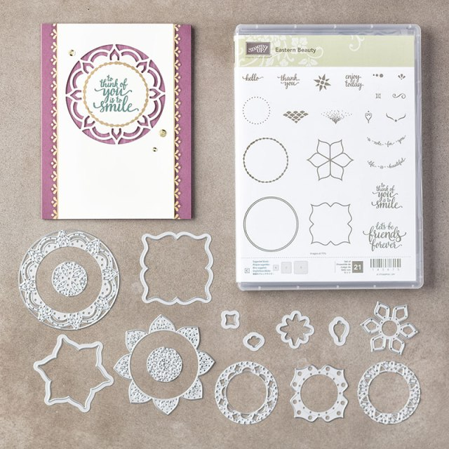 #easternbeauty #bundle #bonniestamped #stampinup