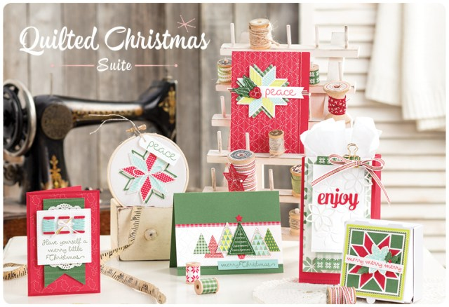 #quiltedchristmas #christmasquilt #bundle #stampinup