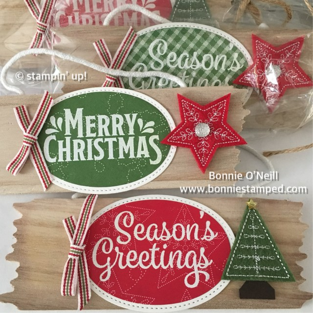 #bonniestamped #stampinup #quiltedchristmas