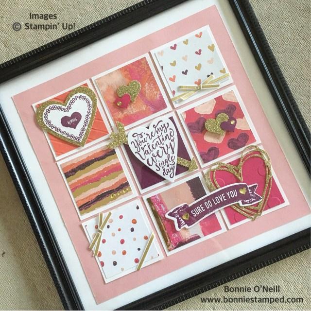 #framedart #lovelybingobash #bonniestamped