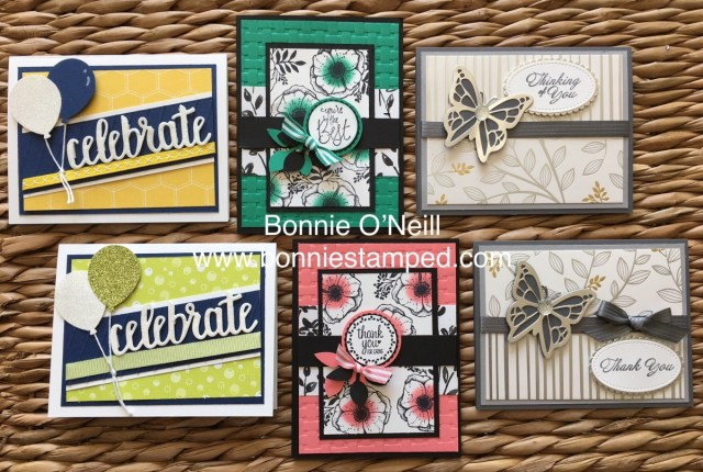 #salebration #bonniestamped #stampinup #cardclass