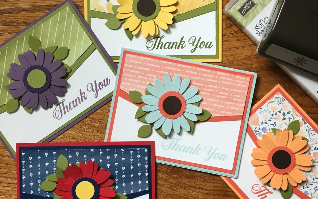 Thank You Cards using the Daisy Delight Bundle