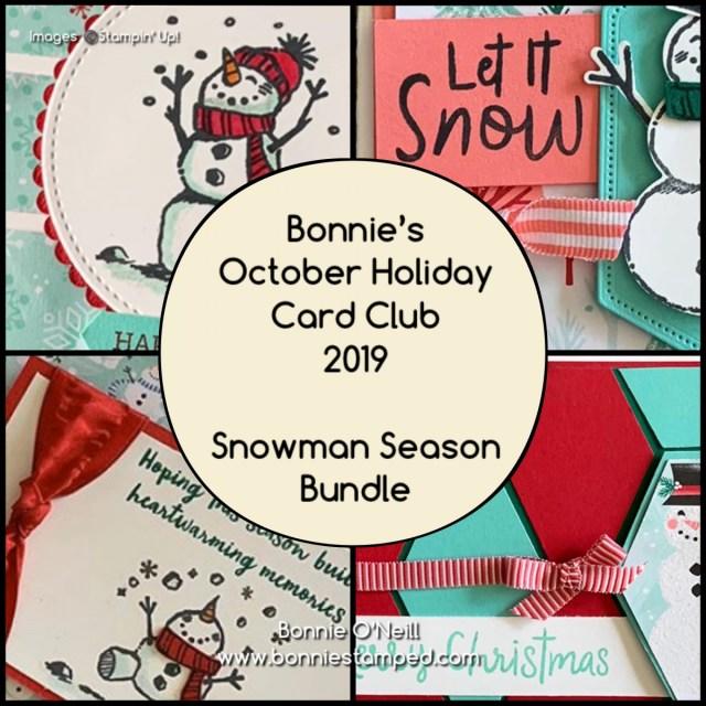 Bonnie's Holiday Card Club October 2019