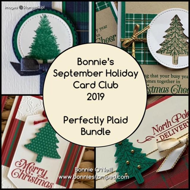 Bonnie's Holiday Card Club September 2019