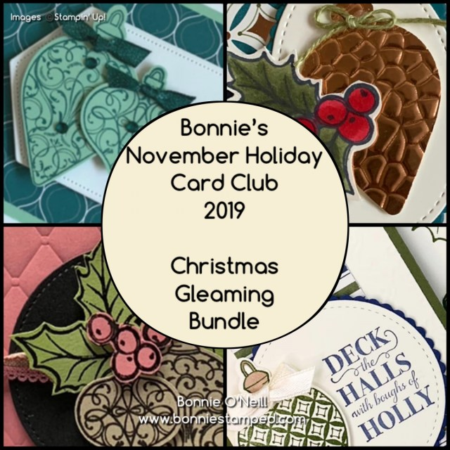 Bonnie's November Holiday Card Club