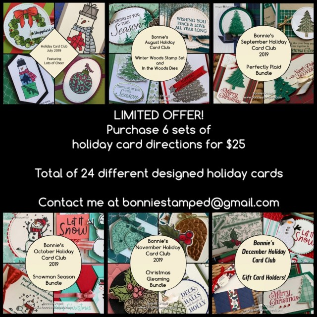 Bonnie's Holiday Card Club 2019