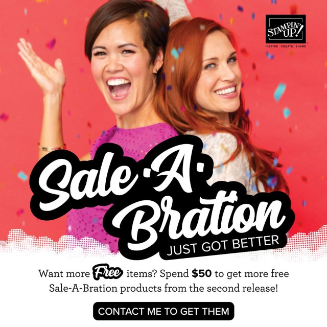 Sale-a-bration Second Round!