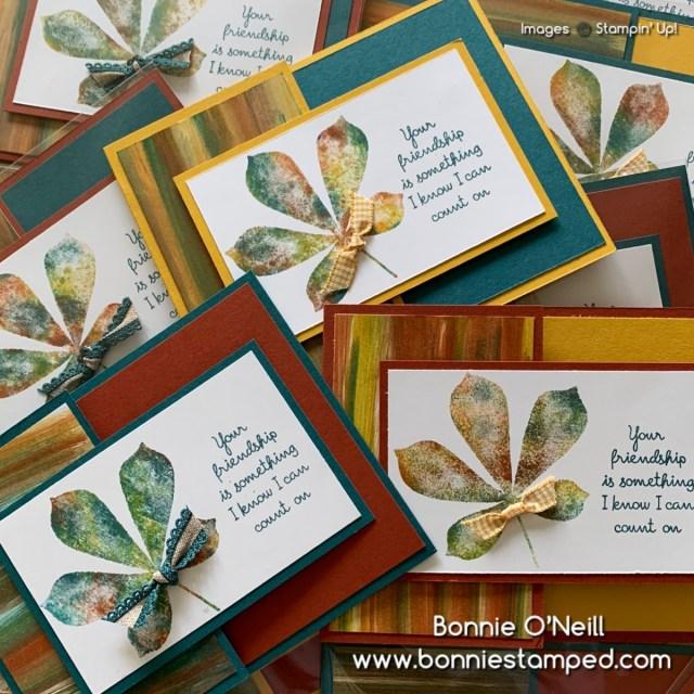 Love of Leaves Card #2