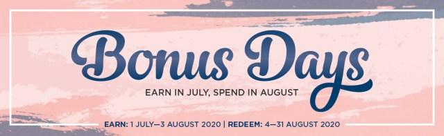 Bonus Days!