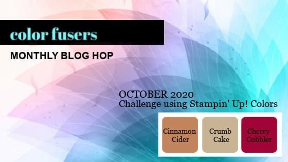Color Fusers Blog Hop October 2020