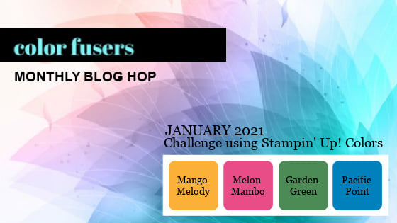 Color Fusers Blog Hop January 2021