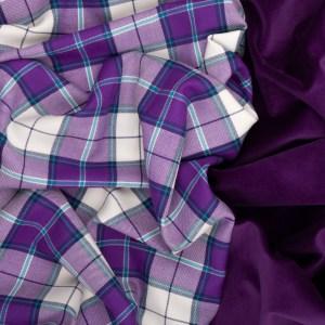 Highland Violet Tartan