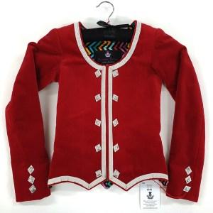 Bonnie Deep Flame Highland Dancing Jacket