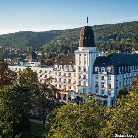 Das Steigenberger Hotel Bad Neuenahr - Die Gesundheit gehört hier zum Leistungsversprechen