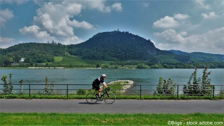Der Rheinradweg in NRW