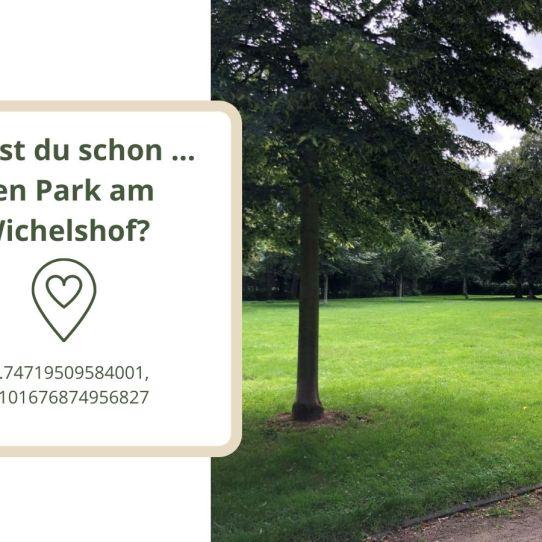 Den Park am Wichelshof?