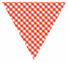 Red Bunting Free Printables Free Bunting Templates