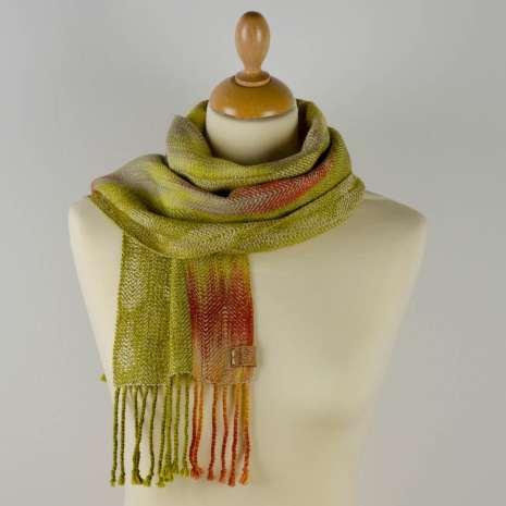 Bonny Claith Autumn Leaves scarf