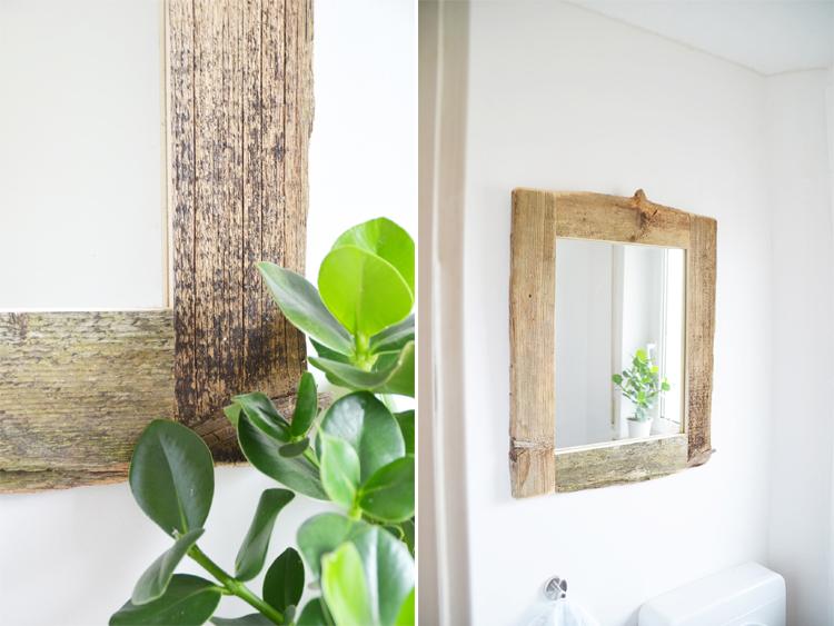 Spiegel mit Holzrahmen selber machen