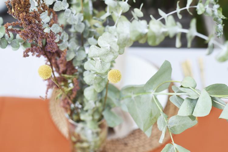 tischdeko-gartenparty-eukalyptus