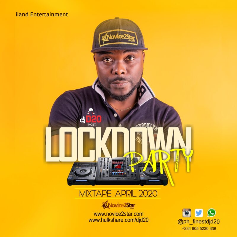 DJ D20 – Lockdown Party Mix