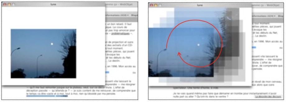 La boucle numérique (sur le GIF animé, etc.)