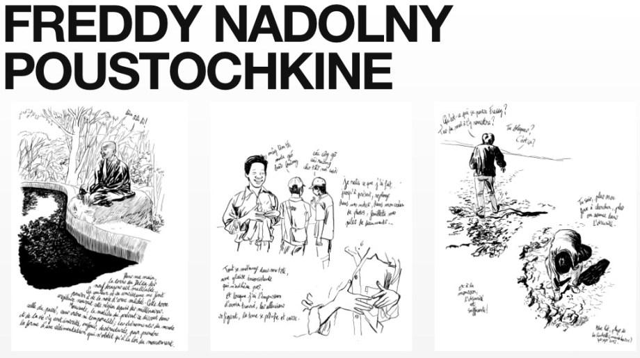 Le nouveau tumblr de  Freddy Nadolny Poustochkine