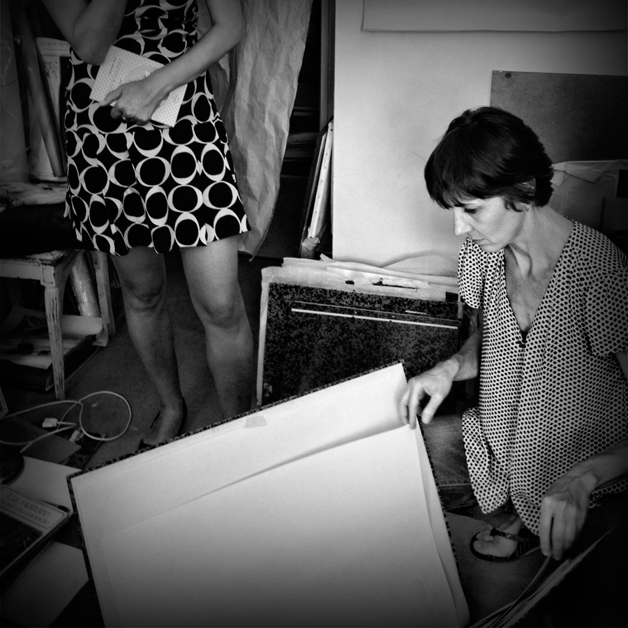 Céline Guichard avec Kano Okuuchi - Photo Alain François