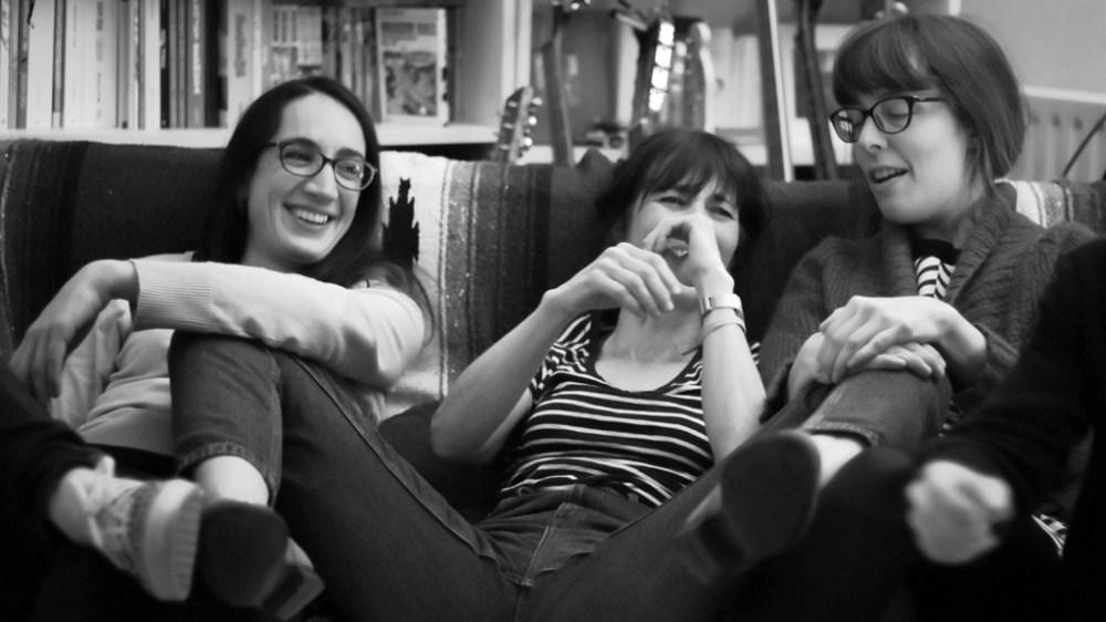 Mathilde Riberoux, Céline Guichard et Sophie Guerrive - Photographie Alain François