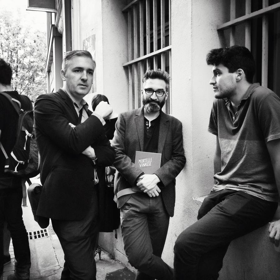 Matt Madden, Lucas Varela & Benjamin Frisch - Photographie Alain François