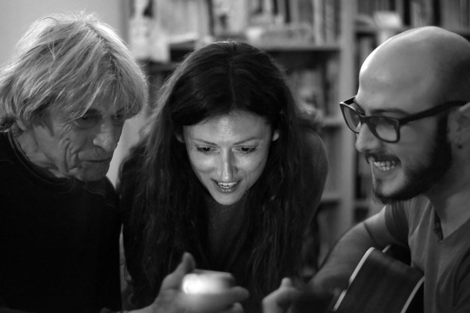 Frank, Laura Désirée, Luca Salce