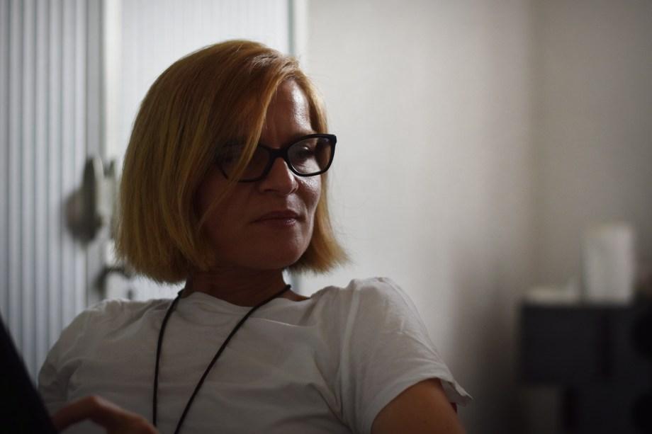 Nina Bunjevac dans son atelier