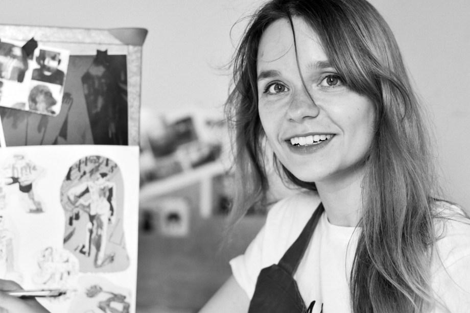 Anna Budanova dans son atelier #2