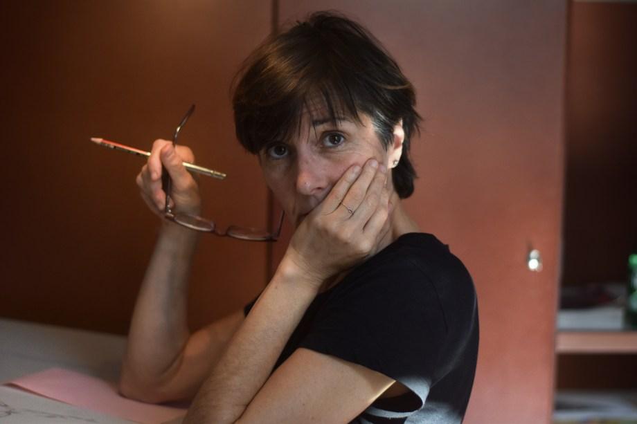 Céline Guichard à la maison des auteurs