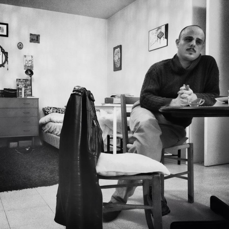 Rojer Féghali chez lui