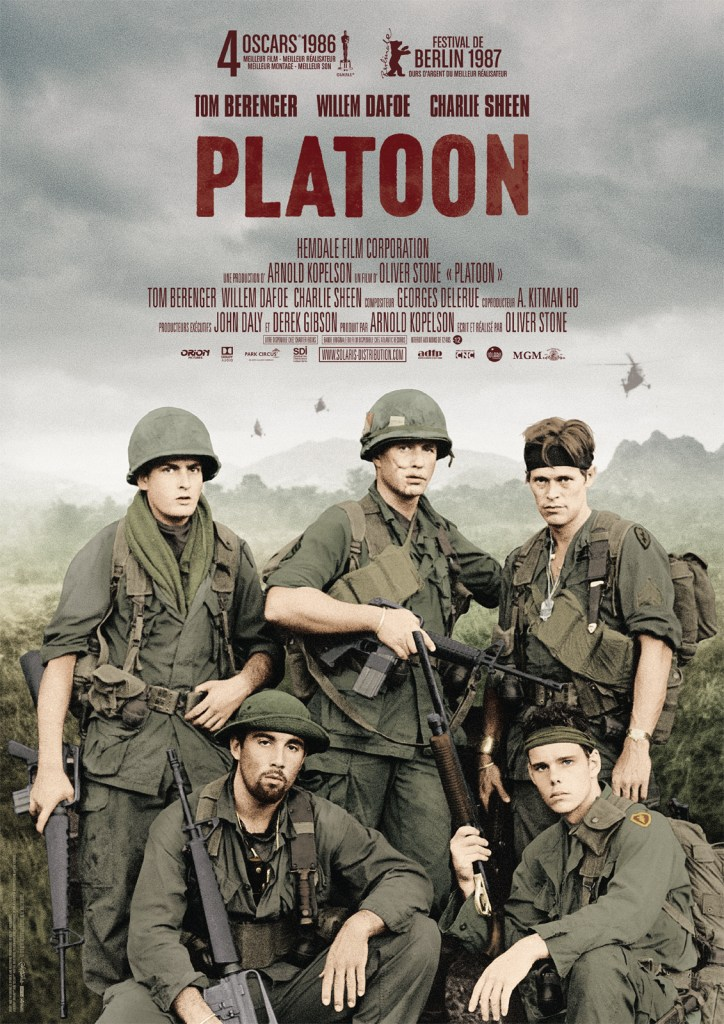 Platoon - one of the best Vietnam war movies ever made