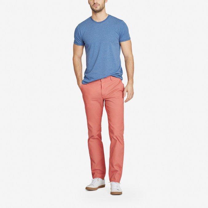 Men's chinos for casual friday